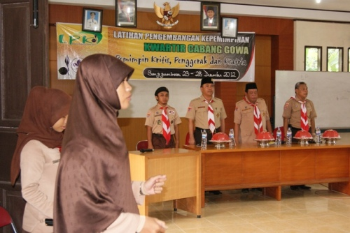 Pembukaan LPK Cabang Gowa 2012